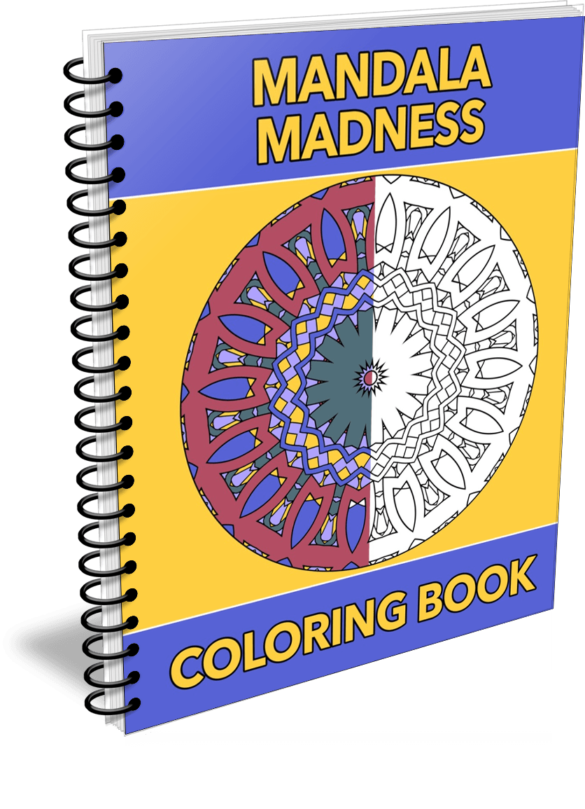 Mandala Madness Coloring Book