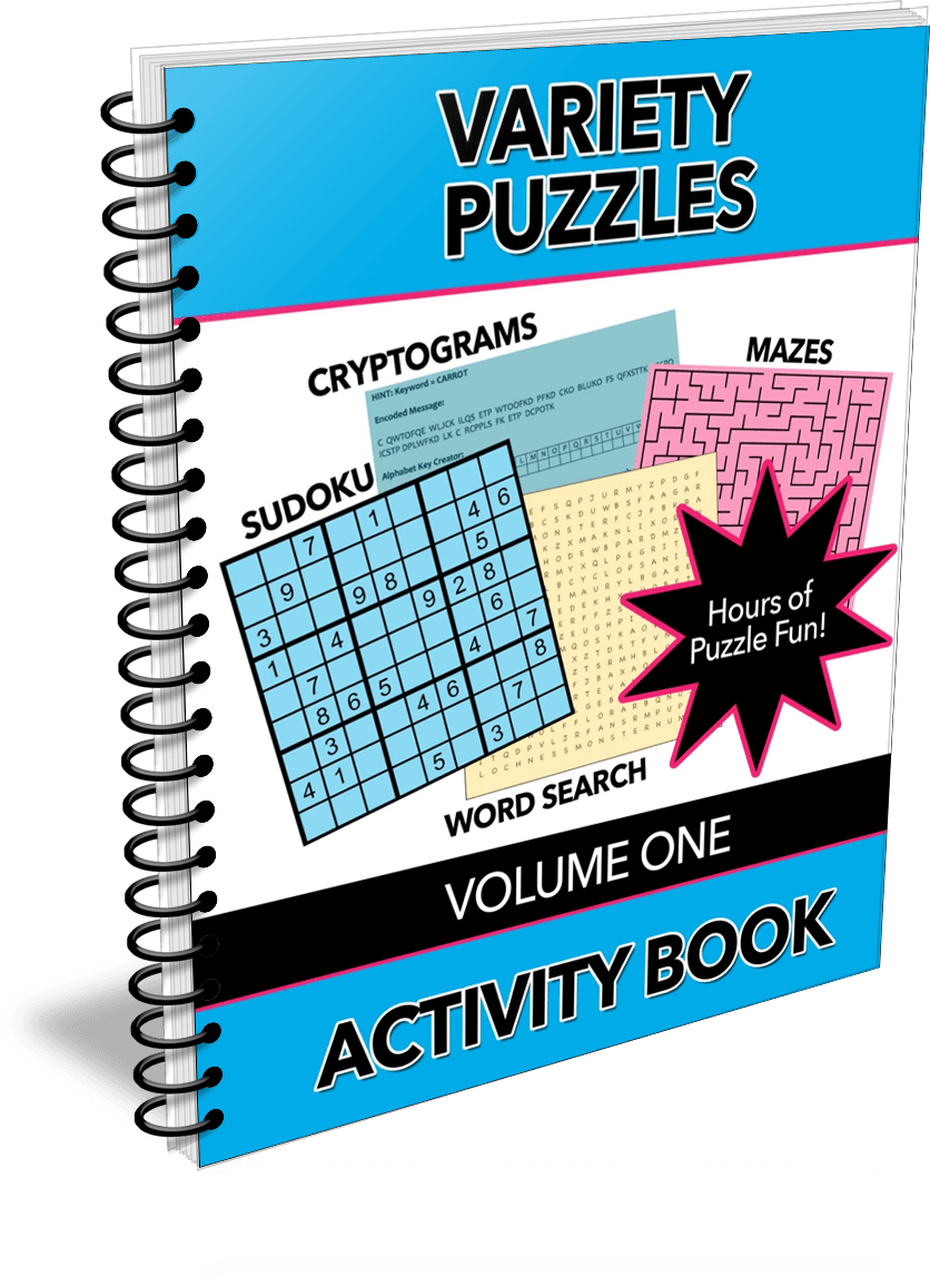 Variety Puzzles, Volume One Activity Book