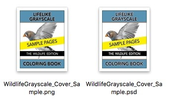 The Lifelike Wildlife Grayscale Coloring Book Opt-In Cover Preview